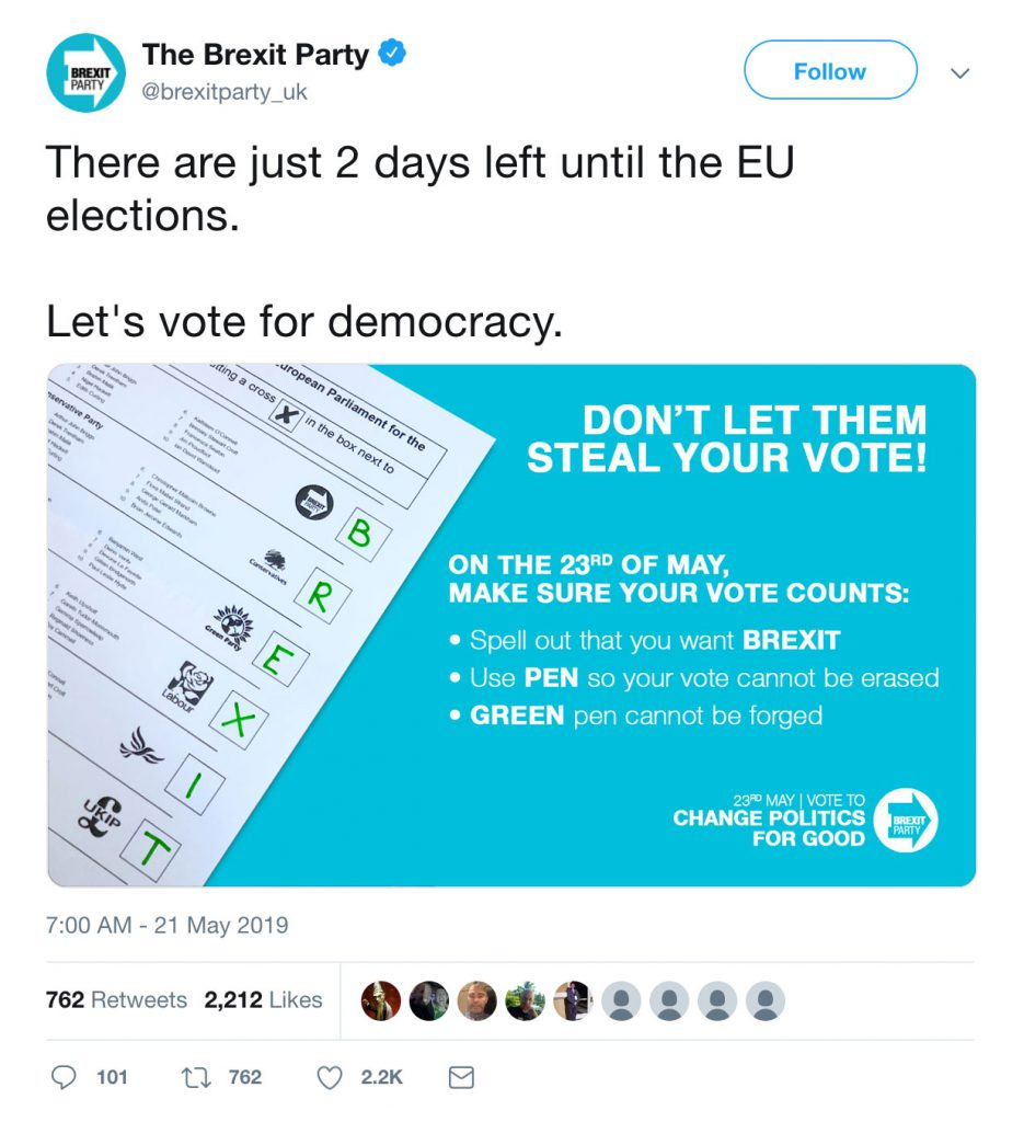 Don't let them steal your vote