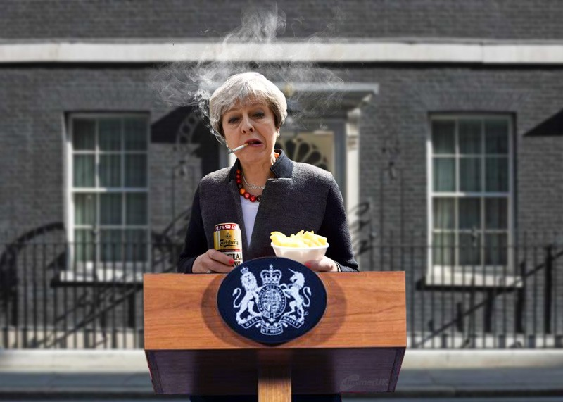 Theresa's announcement