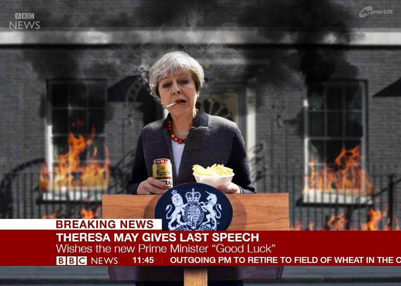 Theresa May's last speech